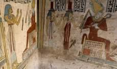 إكتشاف مقبرة بحالة جيدة من العصر البطلمي في مصر
