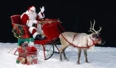 حيوان رنّة يهرب من بابا نويل !