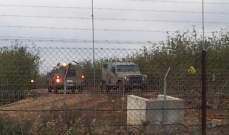 جيش إسرائيل: إسرائيلي اجتاز الحدود مع لبنان والجيش يقوم بتمشيط المنطقة