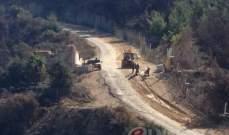 النشرة: الجيش الإسرائيلي إستأنف بناء الجدار العازل مقابل العديسة