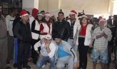 جمعية نسروتو-أخوية السجون في لبنان احتفلت بعيد الميلاد في سجون البقاع