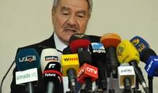 رشاد سلامة: الانتخابات ستجري بأيار ومن المبكر تحديد حركة التحالفات