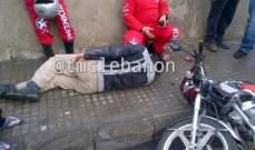 النشرة:اصابة سوريين وطفلة بجروح بحادث سير في العبيسة - مرجعيون