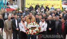 حزب الله أحيا ذكرى قادته باحتفال في بلدة جبشيت