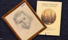 عرض لوحة رسمها هتلر في مزاد للبيع