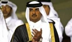 أمير قطر يتصل برئيس العراق لبحث مستجدات الأوضاع هناك