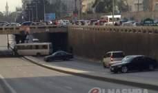 التحكم المروري: قطع السير على تقاطع قصقص محلة الطريق الجديدة
