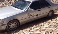 النشرة:دورية من مخفر العبدة عثرت في كفر ملكة على سيارة مسروقة من انطلياس
