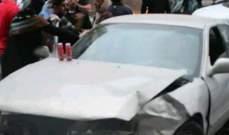 """""""النشرة"""": جريحان في حادث سير على طريق البازورية بالجنوب"""