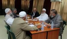 اللقاء الإسلامي في صيدا دعا لمعالجة تفشي ظاهرة انتشار السلاح