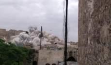 سر انفجار حلب الأمني