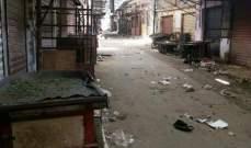 النشرة: وقف اطلاق النار ما زال ساري المفعول في مخيم عين الحلوة
