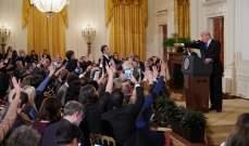 """البيت الأبيض يسحب تصريح مراسل """"CNN"""" بعد سجال حاد مع ترامب"""