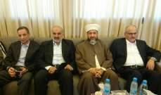 عبد الرازق: لضرورة الحفاظ على استقرار لبنان والمخيمات واجب شرعي