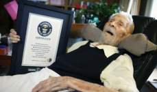 وفاة أكبر رجل معمر في العالم