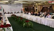 مؤتمر الأحزاب العربية بدمشق ندد بالحصار الأميركي على سوريا: عدوان صريح