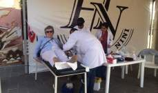 مريض في مستشفى المعونات بحاجة الى دم من فئة B+