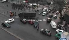 الجيش عمل على إعادة فتح طريق ضهر البيدر عند تقاطع مكسة قب الياس وفتح تقاطع برج الغزال