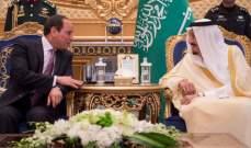 الملك سلمان يبحث في اتصال هاتفي مع السيسي التعاون في محاربة الإرهاب