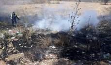 الدفاع المدني: إخماد حرائق مختلفة في الكوكودي والخيام والبيسارية وميفدون