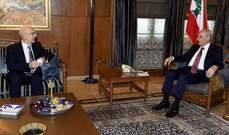 بري استقبل سفير سلوفاكيا ونقيبي المحامين ومحافظ بيروت ورئيس الجامعة اللبنانية الاميركية