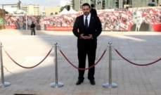 الحريري زار ضريح والده رفيق الحريري قبيل توجهه الى البيال
