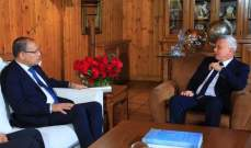 النجاري زار فرنجية: نعتز به كثيرا ومصر ستكون حاضرة بشكل كبير في لبنان بالمرحلة المقبلة