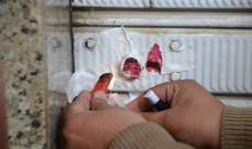 إقفال محلات يشغلها سوريون بالشمع الأحمر في العاقبية