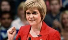 ستورجون: بريطانيا قد لا تتمكن من منع الاستفتاء على خروج اسكتلندا من المملكة إذا أعيد انتخابها