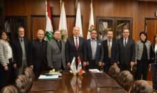 توقيع مذكرة تفاهم بين غرفة طرابلس وجامعة الحكمة دبوسي