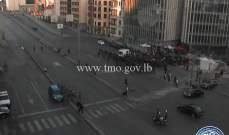 اشكال بين المتظاهرين وبعض المواطنين تحت جسر الرينغ