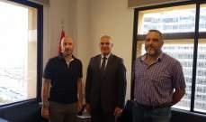 رئيس بلدية بشري عرض مع وزير البيئة المخالفة البيئية في القرنة السوداء