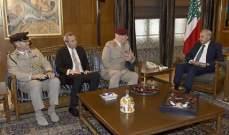 بري التقى كبير مستشاري وزير الدفاع البريطاني وعرض معه الأوضاع العامة