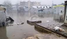 النشرة: الثلوج اكتسحت بعض قرى راشيا والبقاع الغربي وبعض مخيمات النازحين غرقت بالسيول