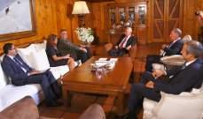 سليمان فرنجية عرض مع كوبيش الأوضاع السياسية والأمنية والاقتصادية