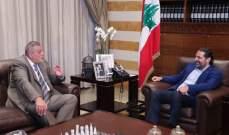 الحريري التقى كوبيتش وبحث معه اخر المستجدات