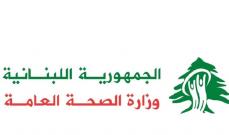 وزارة الصحة: 619 إصابة جديدة بـ