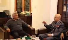 سعد عرض الأوضاع الأمنية في صيدا والجنوب مع العميد شمس الدين