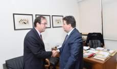 كنعان التقى فوشيه: المبادرة الفرنسية مستمرة بانتظار حكومة متجانسة