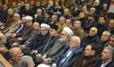 """لقاء الأحزاب اللبنانية نظم """"وقفة وفاء"""" لسمير القنطار في صيدا"""