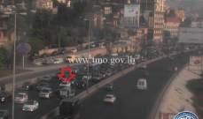التحكم المروري: تعطّل مركبة في الضبيّة وحركة المرور كثيفة
