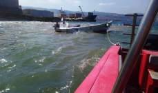 الدفاع المدني: سحب زورق صيد على متنه شخص إلى ميناء البترون بعد تعطل محركه