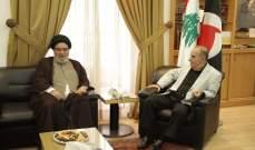 لقاء بين حزب الله والقومي: لسن قانون انتخاب على أساس النسبية