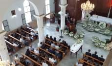 بلدات القاع وقرطبا وصربا الجنوبية تشيع بكنائسها شهداء انفجار المرفأ