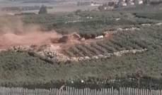النشرة: ورشة اسرائيلية باشرت اعمال الحفر مقابل كفركلا