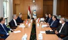 فياض: تم الاتفاق على اجراء المعاينة والتقييم لخط نقل الغاز الطبيعي الواصل بين سوريا ولبنان