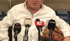 ميشال ضاهر: لا استطيع اعطاء الثقة للحكومة ان لم تكن حكومة انقاذ