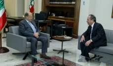 الرئيس عون بحث مع البطريرك يازجي والنائب السيد مسار تشكيل الحكومة