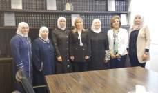"""الطبش بحثت قضايا المرأة وحقوقها مع جمعية """"الإرشاد والإصلاح"""""""