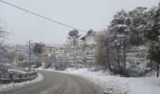 التحكم المروري: بعض الطرقات الجبلية مقطوعة بسبب تراكم الثلوج